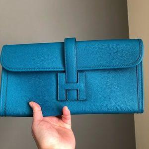 Hermès elan 29 jige blue Izmir